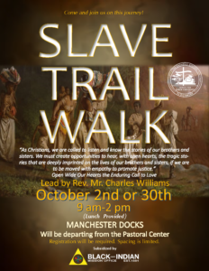 OBC-Slave Trail Walk @ Pastoral Center
