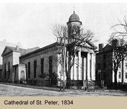 Cathedral of St. Peter, 1834