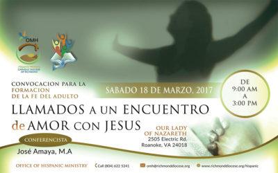 Convocación de todos los Participantes FFA @ Our Lady of Nazareth | Cave Spring | Virginia | United States