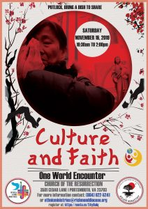 Culture and Faith | Celebrating Asian Catholics @ Church of the Resurrection @ Church of the Resurrection