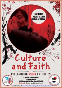 Culture and Faith | Celebrating Asian Catholics @ St. Michael the Archangel